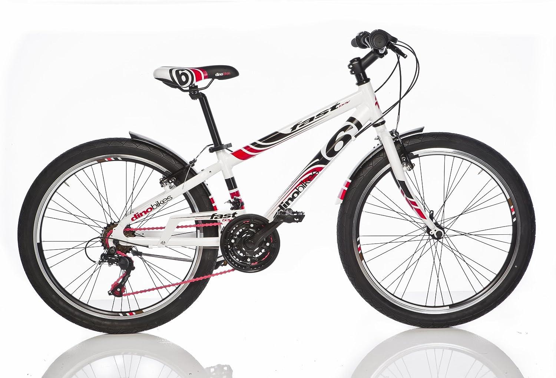 Bicicleta Niño 24 Pulgadas Dino Bikes Fast Boy Freno Delantero y ...