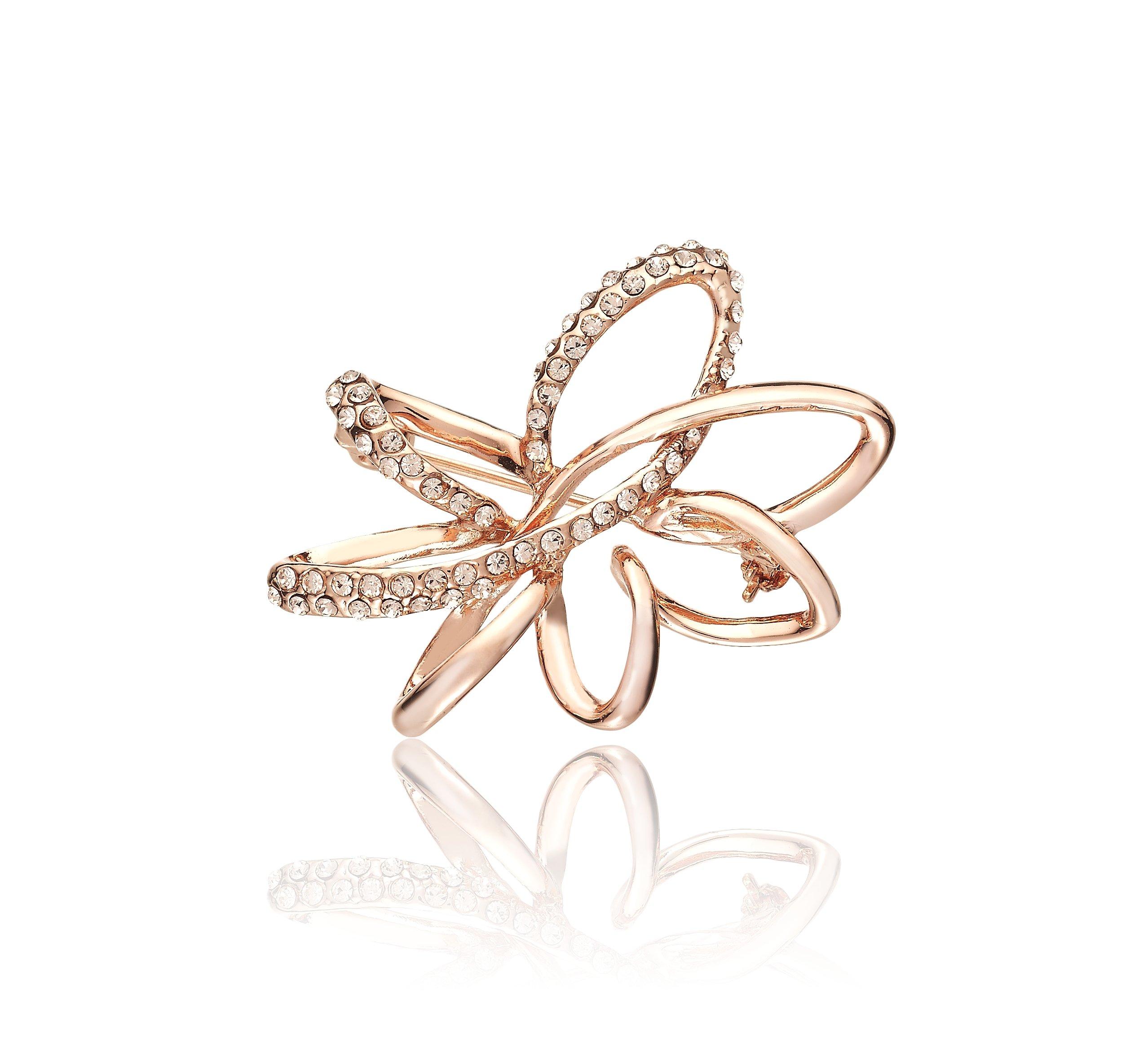 Queen Jocelyn Hot Selling Crystal Brooch Jewelry for Women