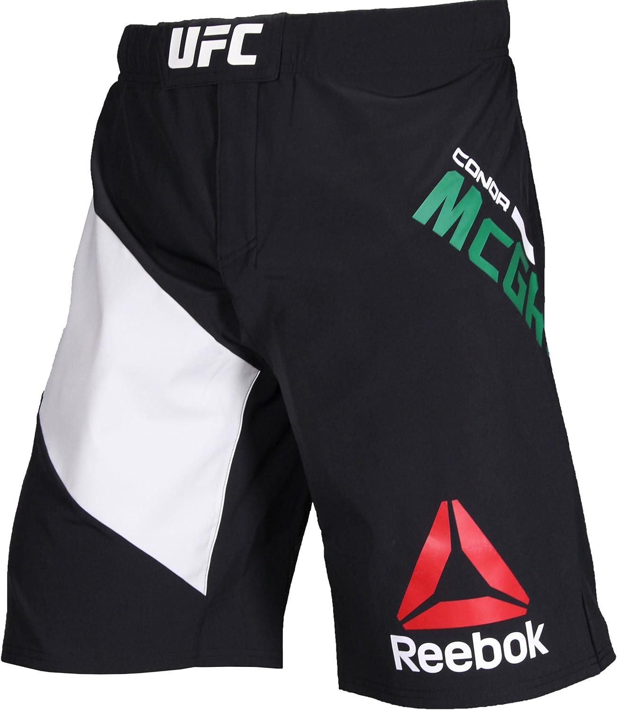 Reebok Ufc Lucha Kit Conor Mcgregor Octagon Pantalones Cortos Black Chalk Amazon Es Deportes Y Aire Libre