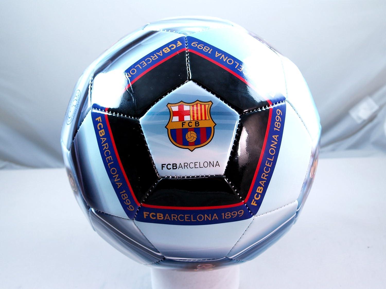 FCバルセロナサッカー公式サイズサッカーボール( SZ。5 ) – 132 B0068QGUB8