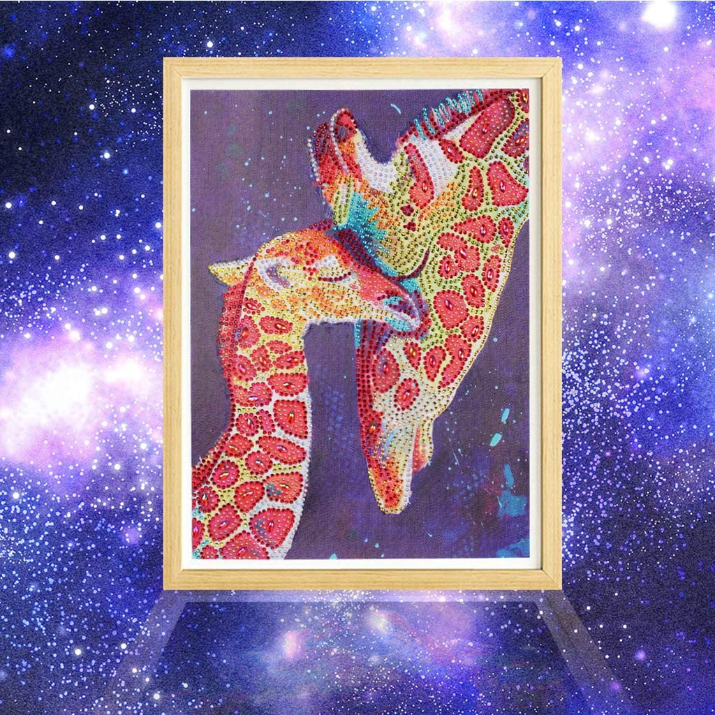 Blue Cat Wenini Special Shaped Diamond Painting Animals DIY 5D Partial Drill Cross Stitch Kits Crystal Rhinestone of Picture Serial Diamond Embroidery Arts Craft