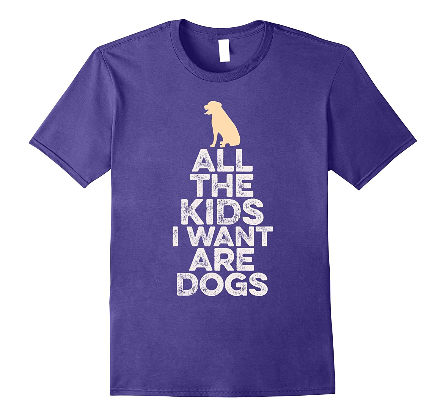 All The Kids I Want Are Dogs T-Shirt-CD