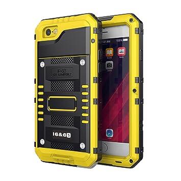 Beeasy Funda Antigolpes para iPhone 6 / 6S, Impermeable Rígida Carcasa Rugged Armor Resistente al Impacto Grado Militar Duradera Robusta al Aire Libre ...