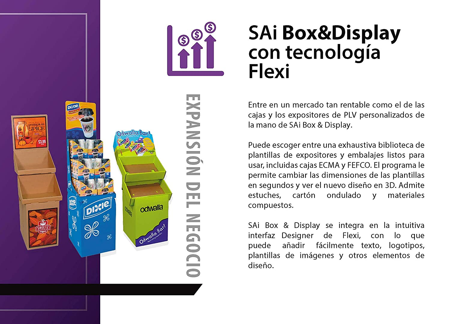 Flexi Box & Display 6 meses de suscripción, software de ...