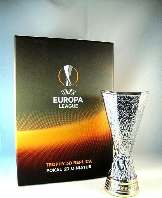 uefa europa league trophy 150 mm amazon co uk sports outdoors uefa europa league trophy 150 mm