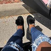 dakota water resistant genuine shearling pompom slipper