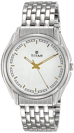 Titan Karishma Analog White Dial Men's Watch NM1578SM05 / NL1578SM05 Men's Watches