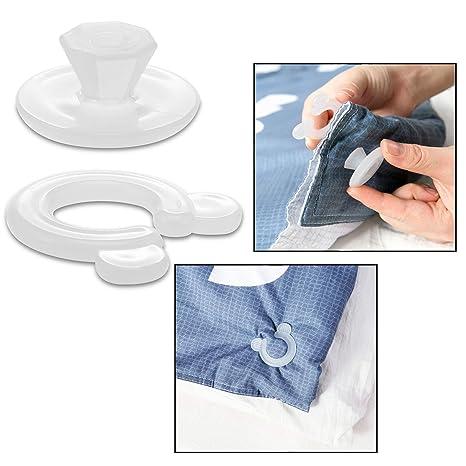 Clips Per Fissare Il Copripiumino.Ofkpo Clip Copripiumino In Plastica Clip Piumone Copripiumino Clip Piumino 20pcs
