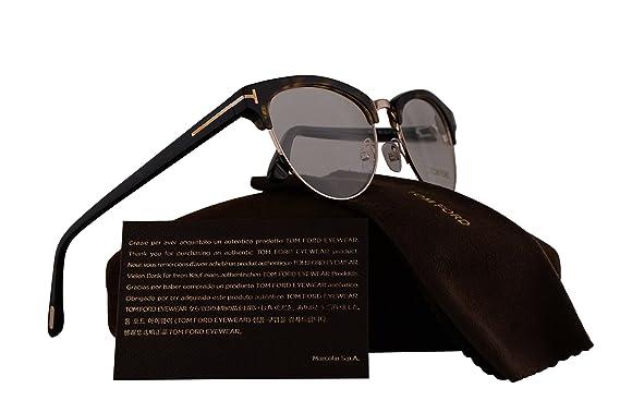 5d93ed07f744 Amazon.com  Tom Ford FT5471 Eyeglasses 53-17-140 Havana Gold w Demo ...