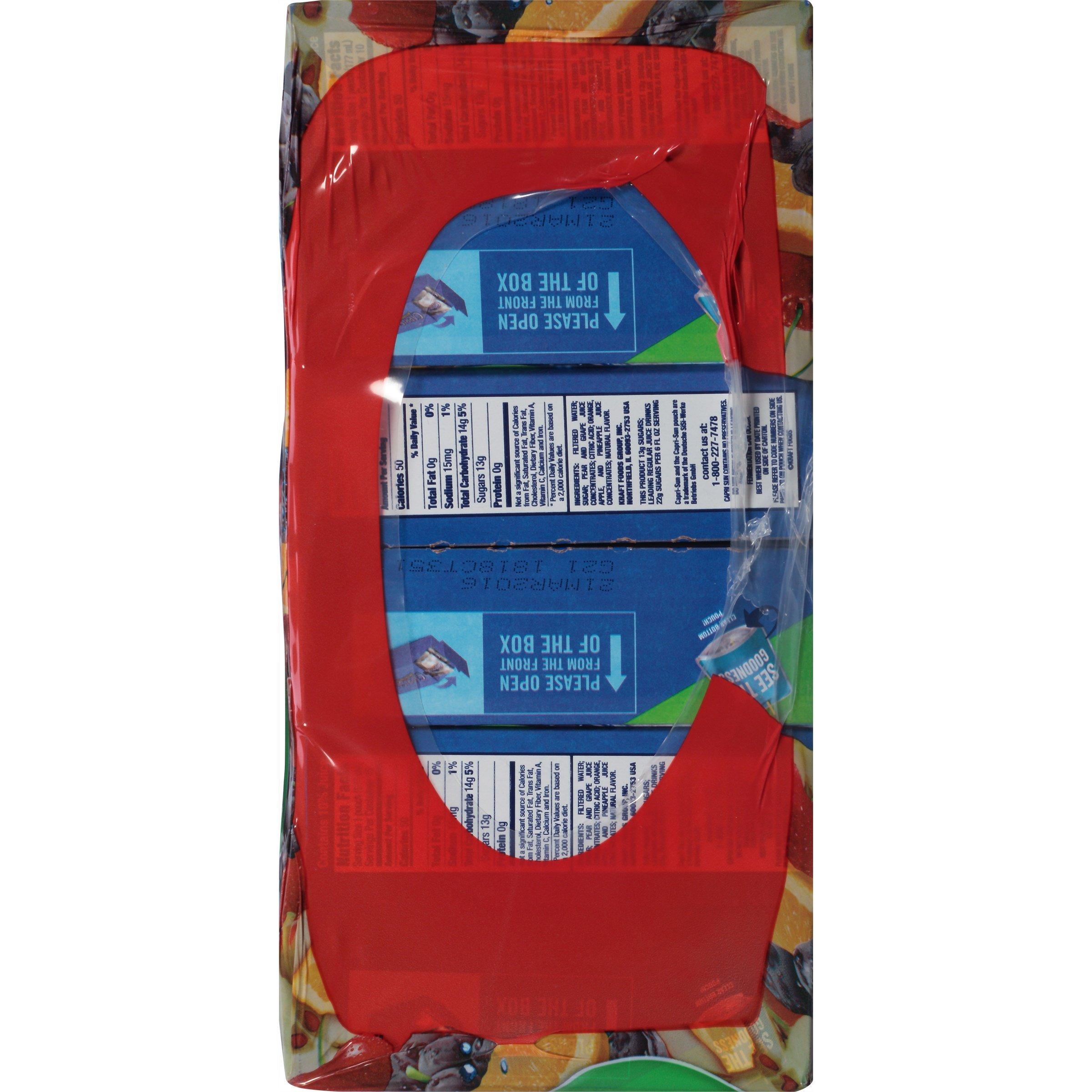PACK OF 6 - Capri Sun Fruit Punch Juice Pouches, 30 count, 6 oz (177mL) by Capri Sun (Image #2)