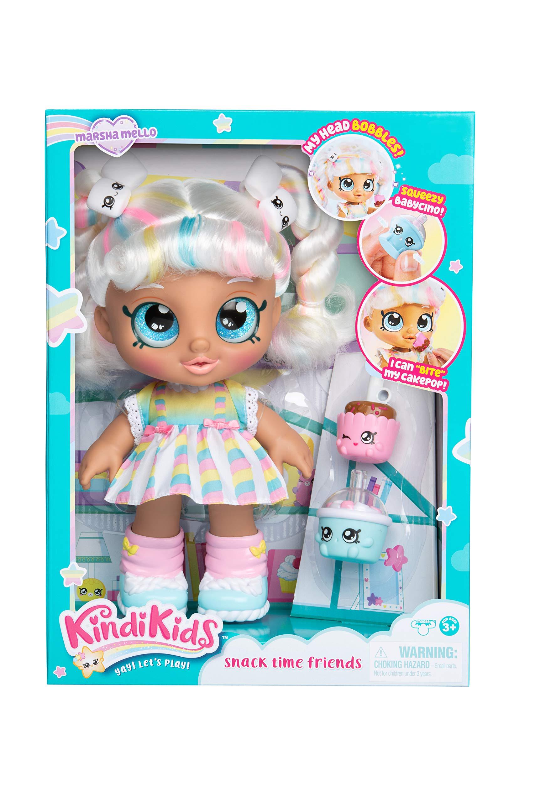 Kindi Kids Snack Time Friends, Pre-School 10'' Doll - Marsha Mello by Kindi Kids