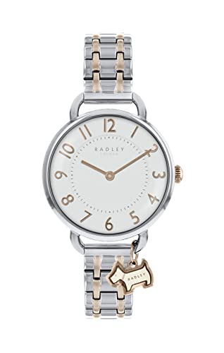 e6fbd5422bf Radley Southwark Park Two-Tone Silver and Rose Gold Bracelet Strap Watch  RY4301  Amazon.co.uk  Watches