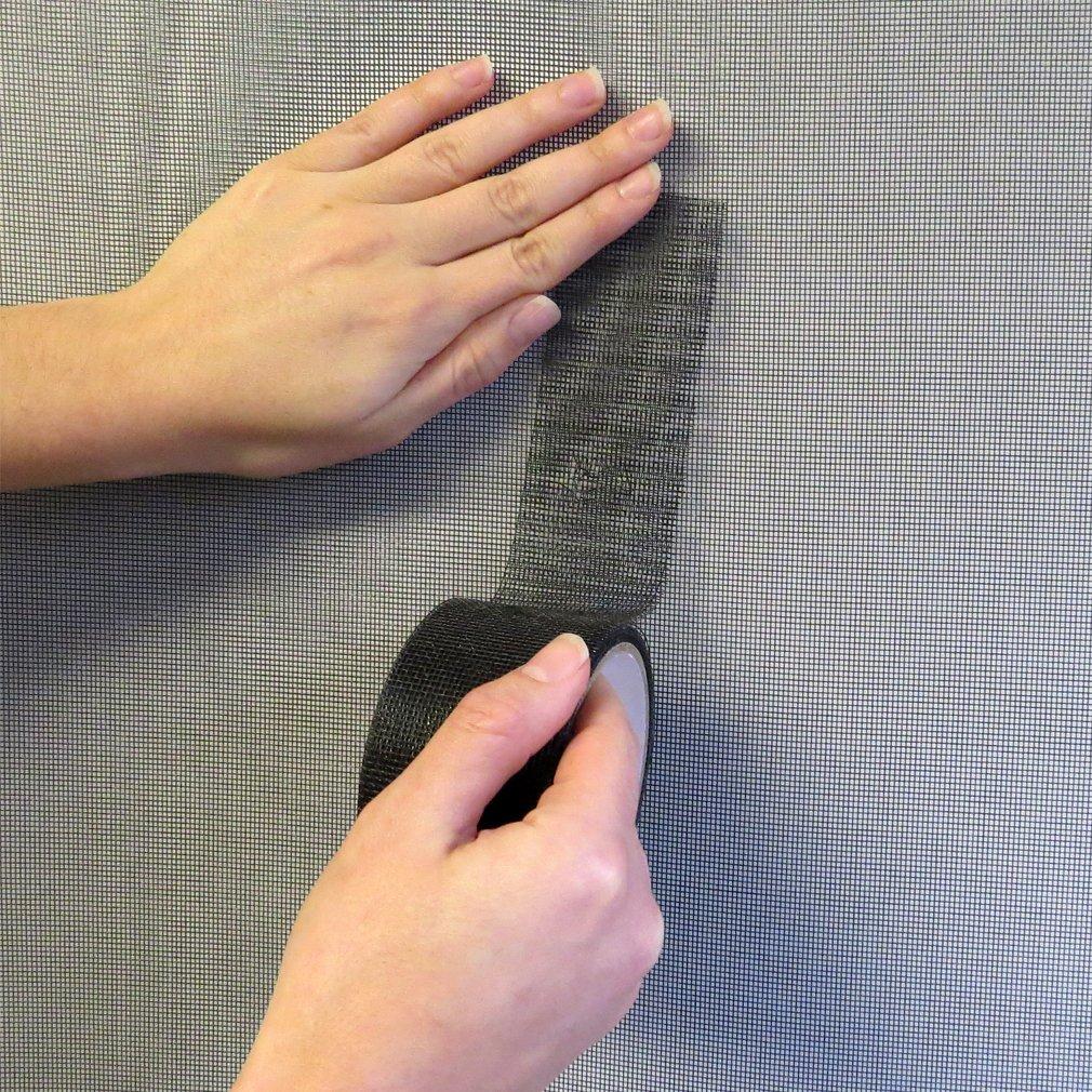 Evelots 15 FT Window & Door Screen Repair Tape Adhesive & Waterproof,Fix Screens