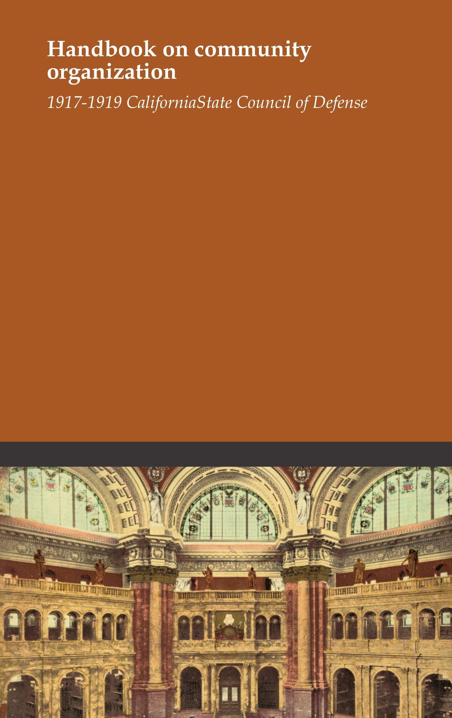 Read Online Handbook on community organization pdf