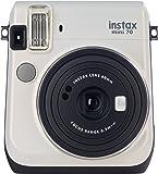 Fujifilm Instax Mini 70 -  Cámara Instantánea, color blanco (White Moon)