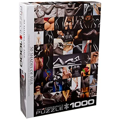 50 Shades of Her 1000Piece Puzzle: Toys & Games