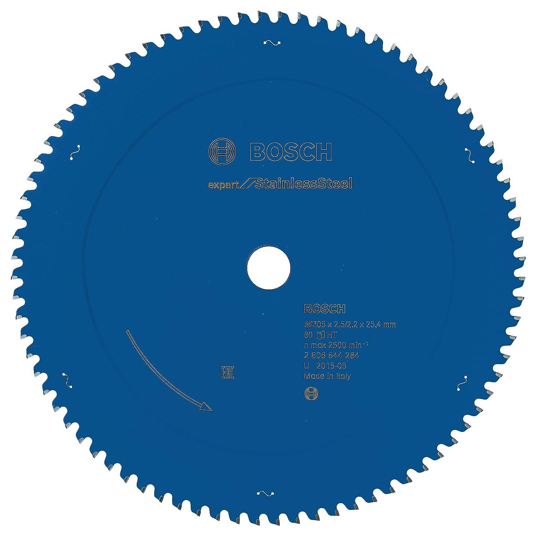 Bosch 2608644284 Vorritzblatt Top Precision EXSLT 305x25,4mm 80, 305 x 25,4 x 2,5 x 80