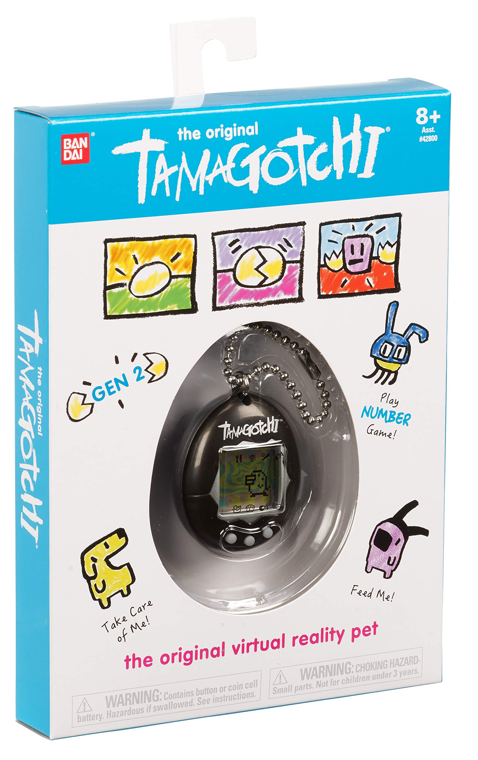 Tamagotchi Electronic Game, Black by Tamagotchi (Image #3)