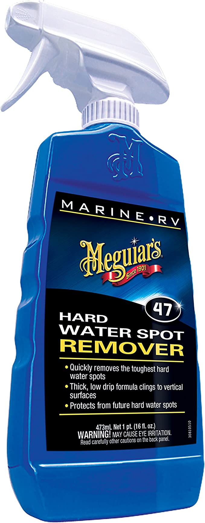Meguiar/'s Marine Hard Water Spot Remover 16 Ounce Thick Low Drip Formula M4716