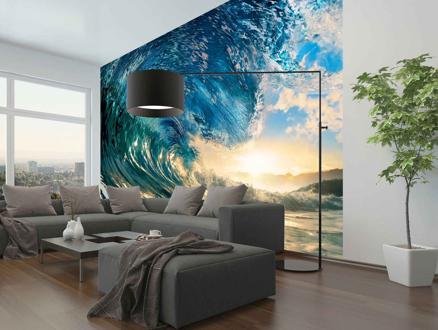 Wizb0|#Wizard & Genius DM962 The Perfect Wave Wall Mural, by Wizard (Image #3)