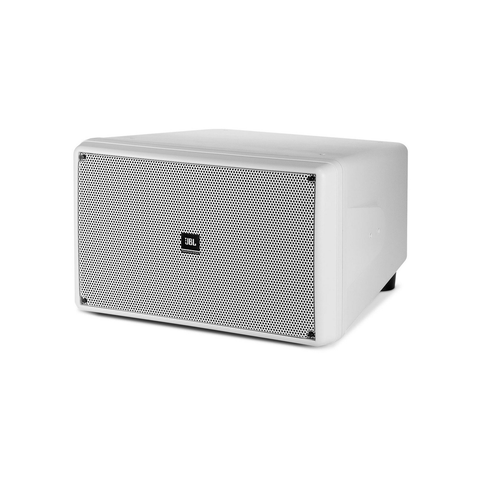 JBL SB2210-WH | Dual 10 inch LF Drivers 500 Watts Outdoor Compact Subwoofer Single Unit White