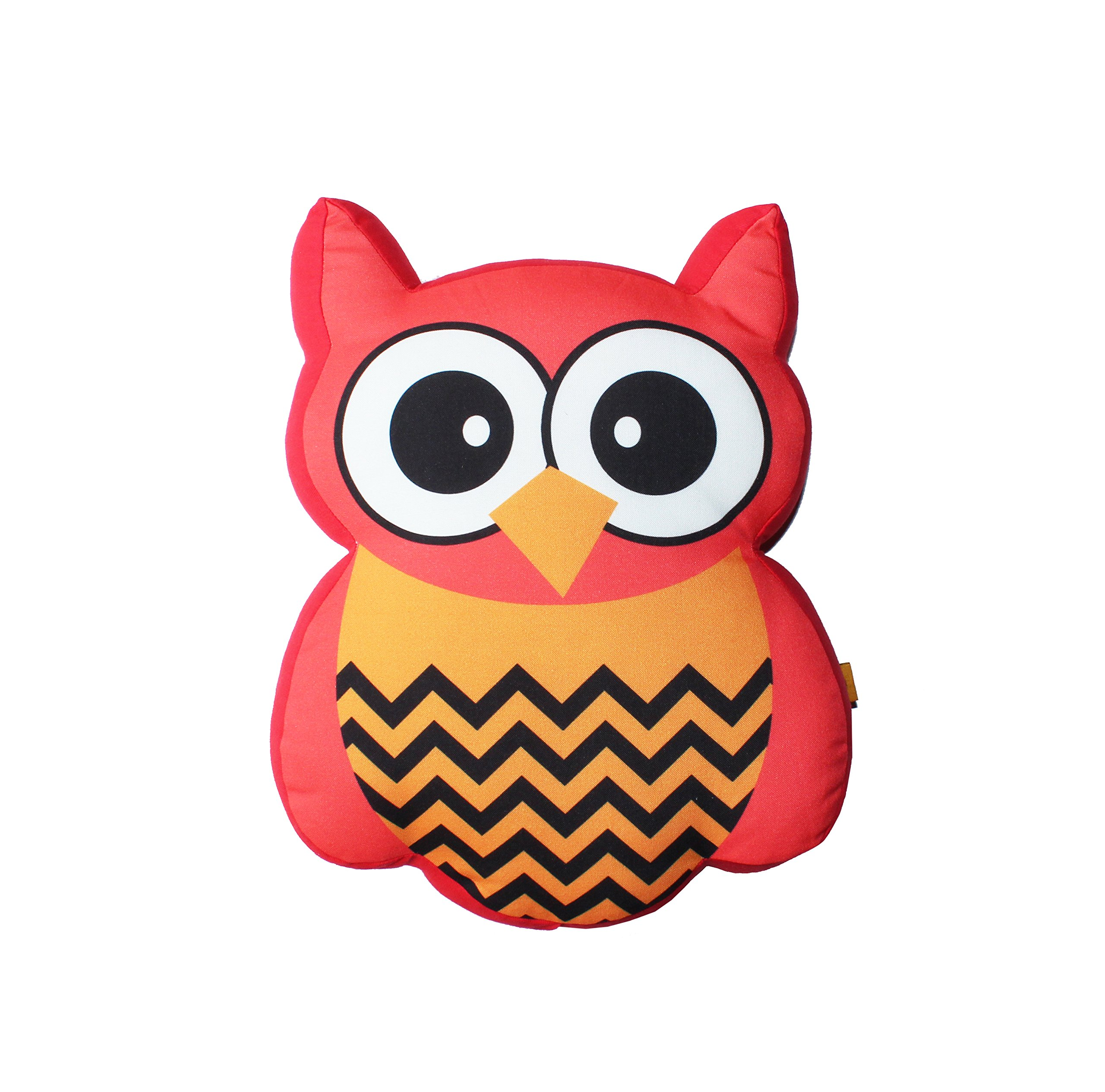 Cuddle Cushion, Owl' Digital Printed, Cushion For Kids, Play And Sleep Time For Kids And Home