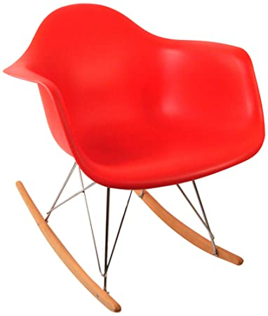 Fine Amazon Com Control Brand Dc 311W Red Adult Sized Mid Squirreltailoven Fun Painted Chair Ideas Images Squirreltailovenorg