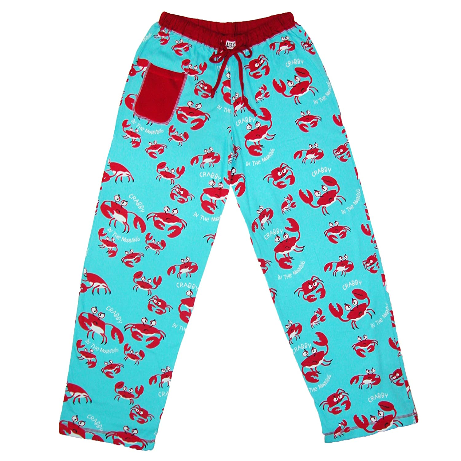 Crabby in the Morning-Crab PJ Pant by Lazy One HPP918XS-$P