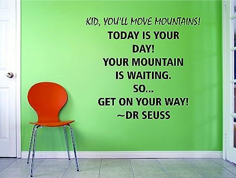 Amazing Amazon Com Dr Seuss Quotes For Kids Walls Childrens Vinyl Beatyapartments Chair Design Images Beatyapartmentscom
