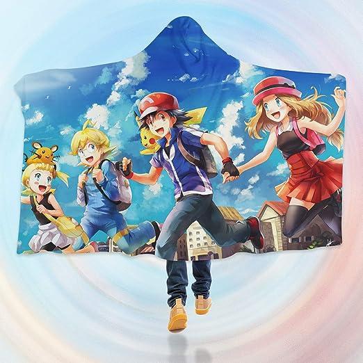 Aj Wallpaper 3d Manta Con Capucha Para Pokemon B472 Manta