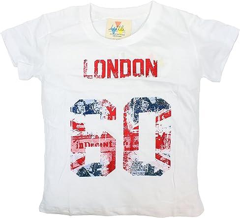 Eleven Paris London Camiseta, Blanco, 4 años para Niños: Amazon.es: Ropa y accesorios