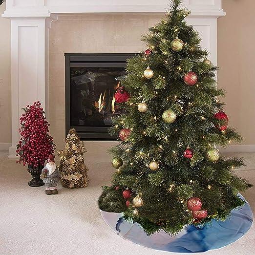 Falda de árbol de Navidad Antigua y valiosa impresión de tinta Art ...