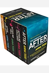 The Complete After Series Collection 5 Books Box Set by Anna Todd (After Ever Happy, After, After We Collided, After We Fell, Before) Paperback