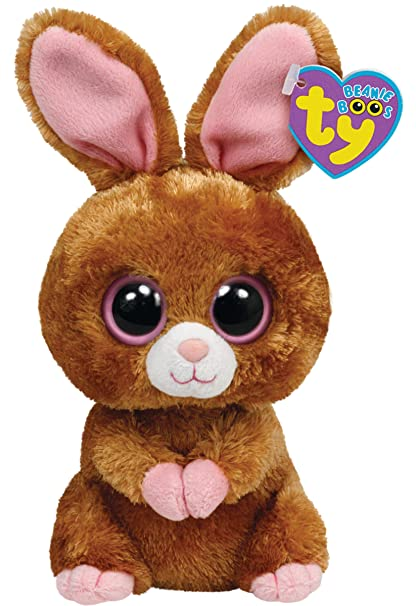 Amazon.com  Ty Beanie Boos Hopson Brown Bunny 6