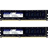Timetec Hynix IC 8GB Kit (2x4GB) DDR3 1333MHz PC3-10600 Non ECC Unbuffered 1.5V CL9 2R8 Dual Rank 240 Pin UDIMM Desktop…