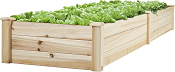 Best Choice Products Vegetable Grow Flowers Elevated Planter