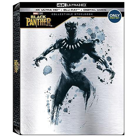 Black Panther 4k Ultra Hd + Blu-ray Best Buy Steelbook Hdr Avengers Infinity War: Amazon.es: Cine y Series TV