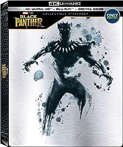 Black Panther 4K + Blu-ray + Digital Copy Steelbook