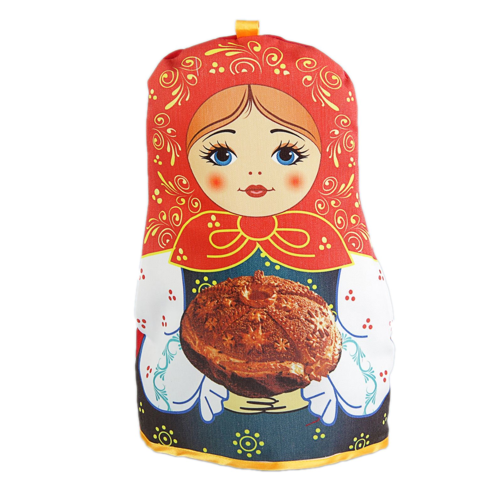 Russian Matryoshka Tea Cozy ''Bread and Salt'' by RussianCozy