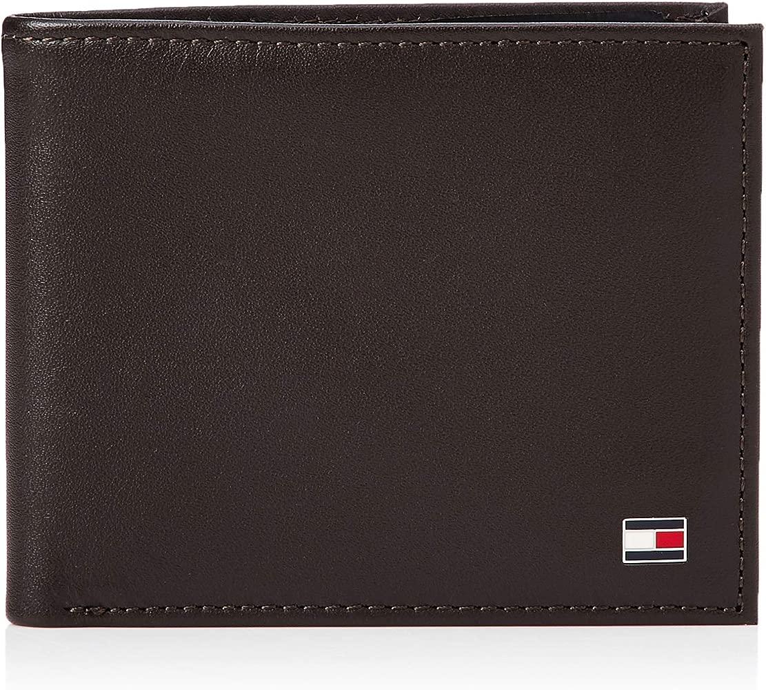 TOMMY HILFIGER Eton Mini CC Wallet, Cartera para Hombre