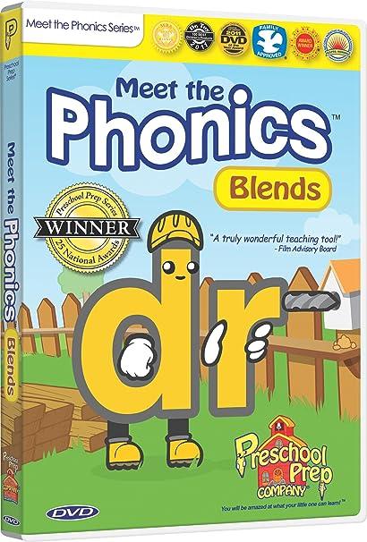 Amazon.com: Meet the Phonics - Blends DVD: Animation, Kathy Oxley ...