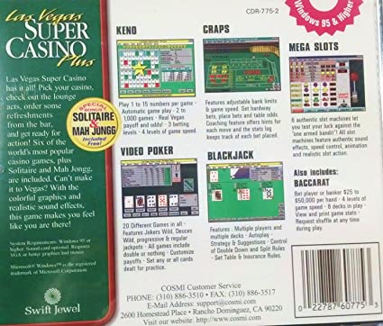 Las vegas super casino 2003 atlantic city gambling guide