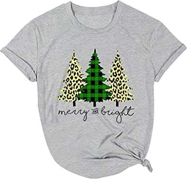 NEW WHITE COTTON LADY TSHIRT MERRY CHRISTMAS CAT GINGER