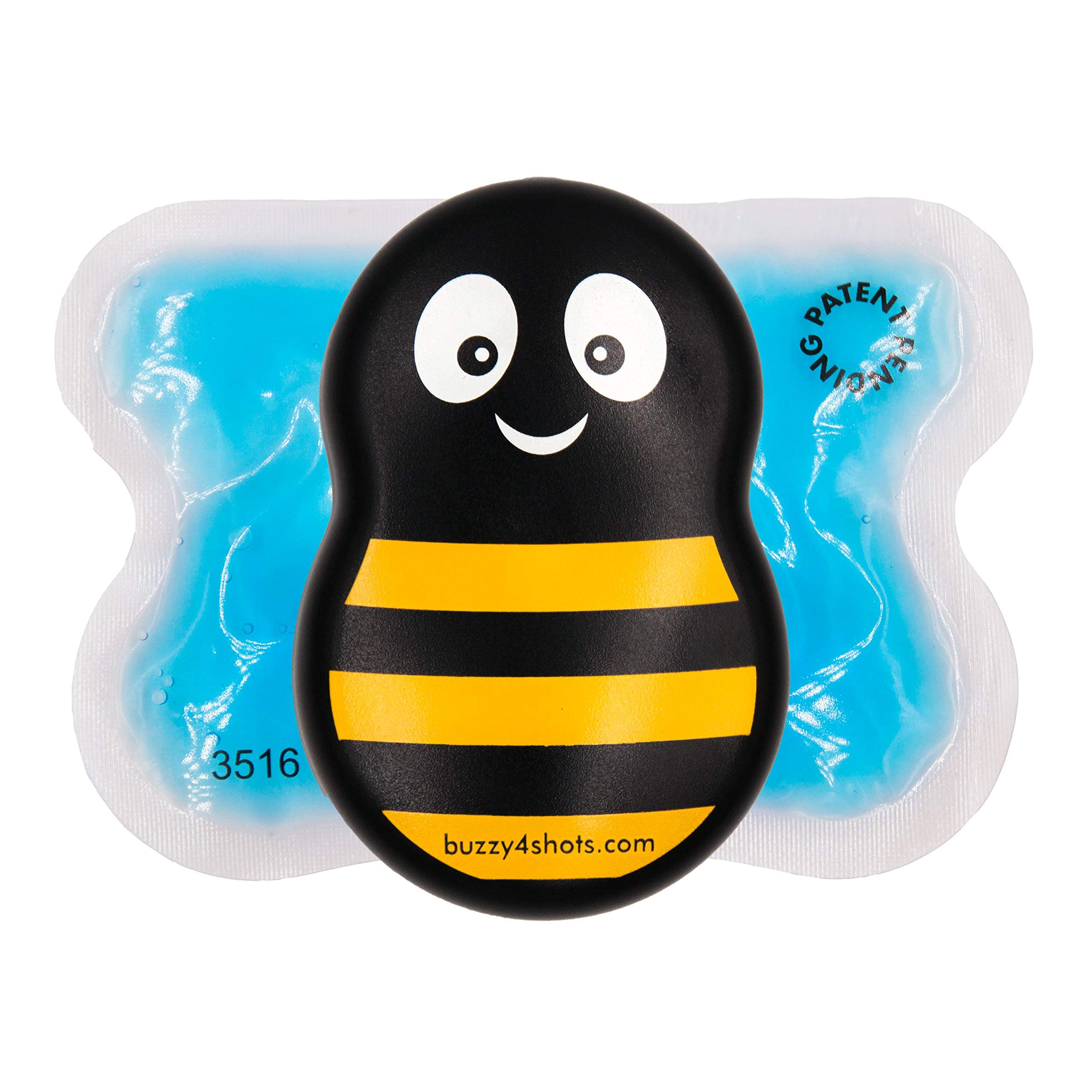 Buzzy® Mini Healthcare - For Injections, Vaccinations, Office Procedures - Professional and Multi-Patient Use - Bee Striped Design by Buzzy®