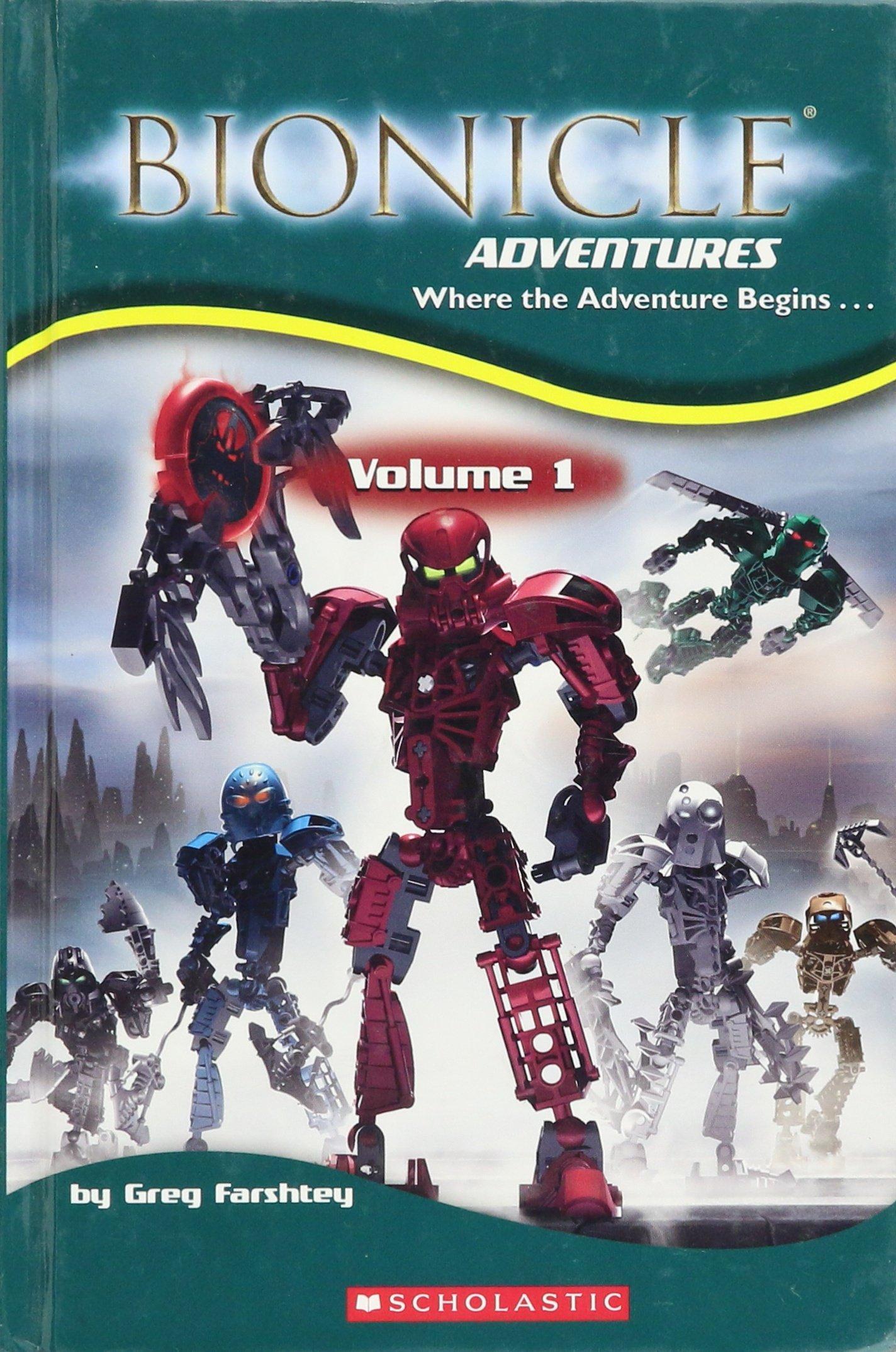 Read Online Bionicle Adventures Volume 1 ebook