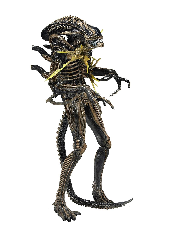 Aliens Action Figure Battle Damaged Alien Xenomorph Blue Neca