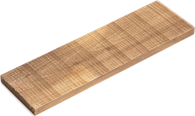 Paquetes de Bloques de Madera rústica recuperada con aspecto desgastado para manualidades, Paquete de 6, 8,9 cm x 30,5 cm x 1,3 cm