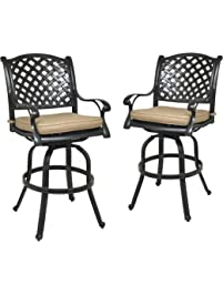 Amazon.com: Stools & Bar Chairs: Patio, Lawn & Garden