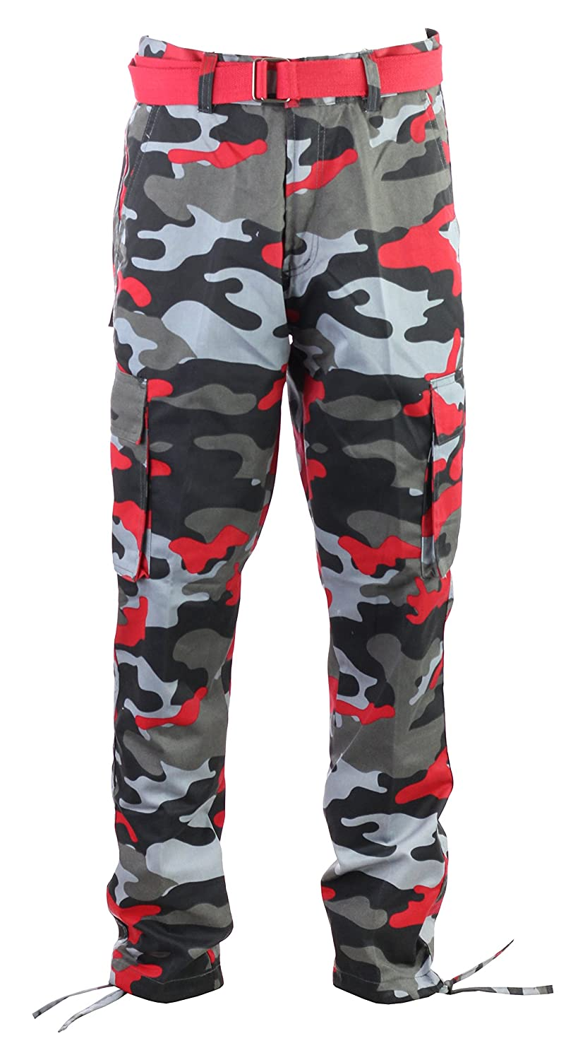 Amazon.com  Access Men s Big   Tall Camouflage Cargo Pants with Belt   Clothing 0271c96ac0e
