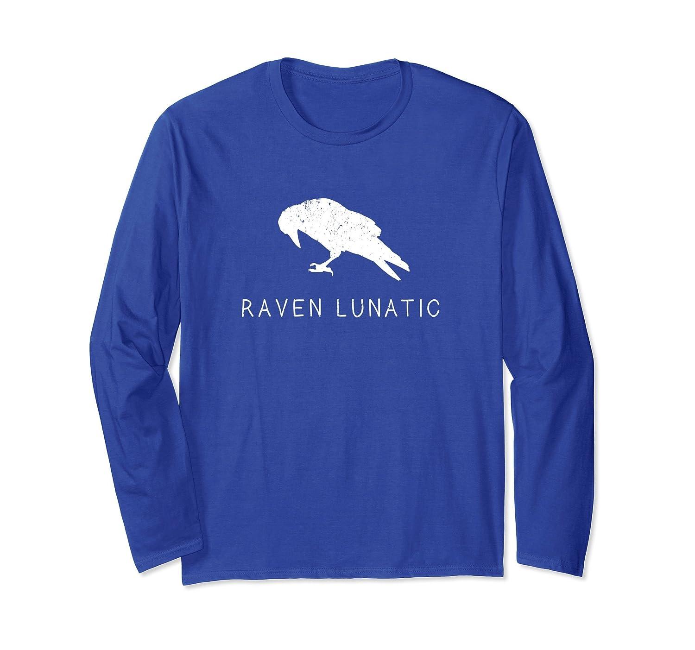 Raven Lunatic long sleeve T-shirt Men Women Boys Girls-mt